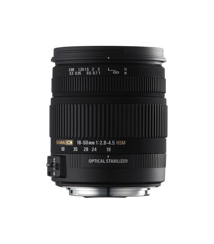 Sigma 18-50mm f2.8-4.5 DC OS HSM - Canon Mount