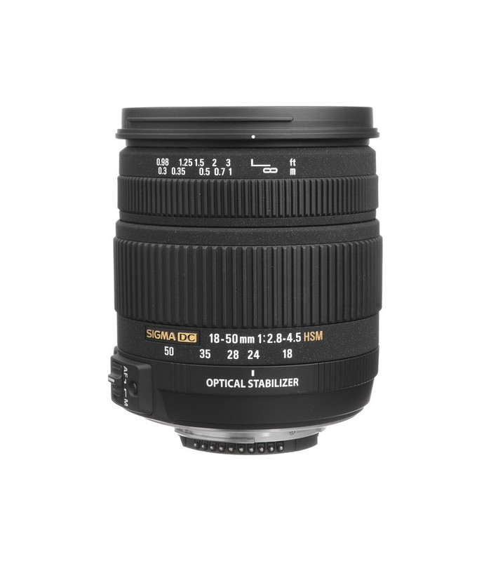 Sigma 18-50mm f2.8-4.5 DC OS HSM - Nikon Mount