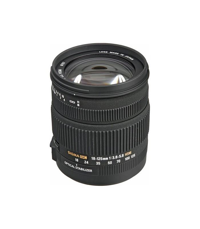 Sigma 18-125mm f3.8-5.6 DC OS HSM - Nikon Mount
