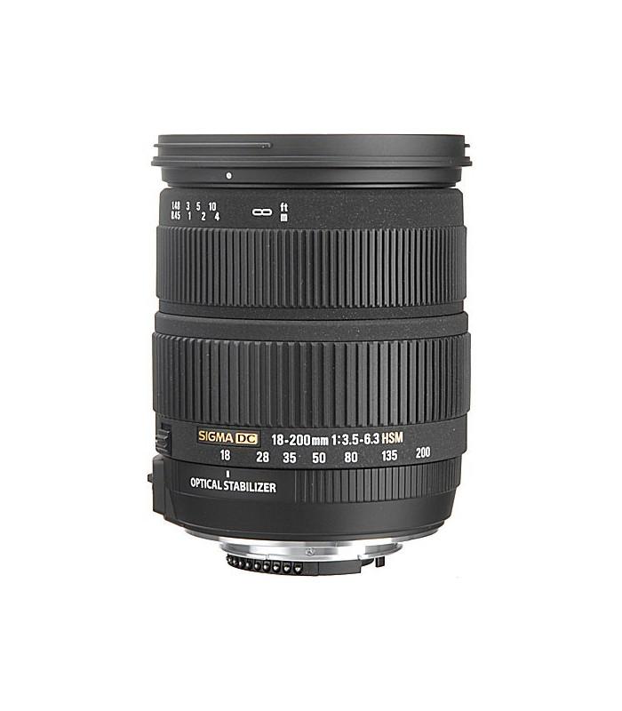 Sigma 18-200mm f3.5-6.3 DC - Nikon Mount