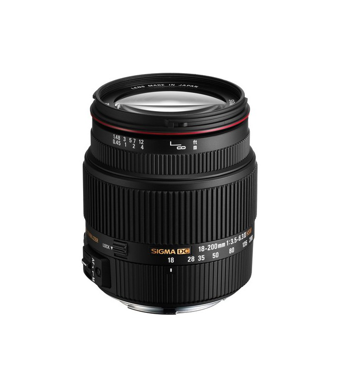 Sigma 18-200mm f3.5-6.3 II DC OS HSM - Canon Mount