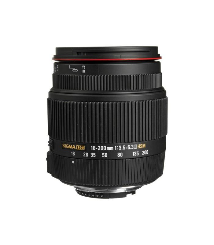 Sigma 18-200mm f3.5-6.3 II DC OS HSM - Nikon Mount