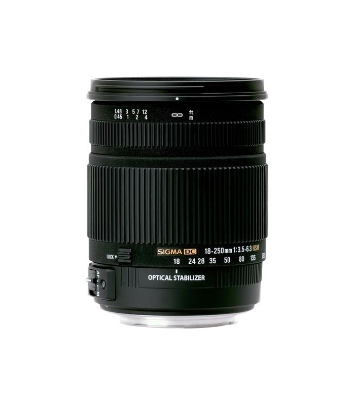 Sigma 18-250mm f3.5-6.3 DC OS HSM - Canon Mount