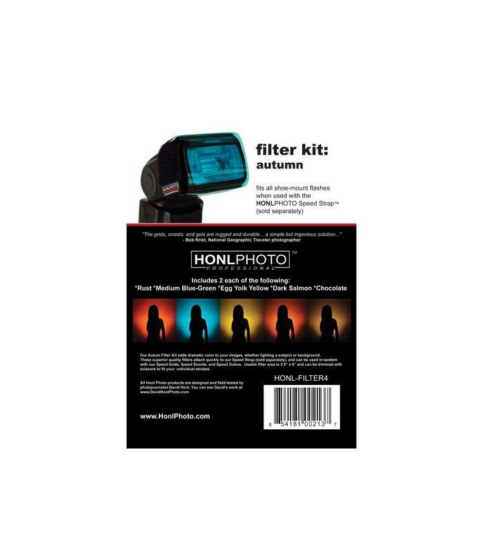 Honl Photo Filter Kit Autumn