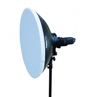Phottix Beauty Dish MK II with Bowens Speed Ring (51cm, 20, Silver)