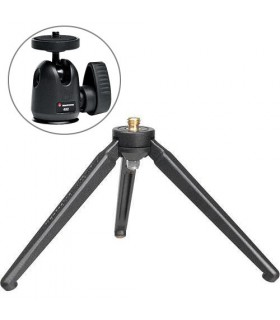 Manfrotto 209 Tabletop Tripod with 492 Micro Ball Head Kit