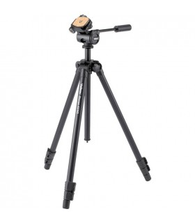 Velbon Sherpa 4370D Aluminum Tripod with 3-Way PanTilt Head