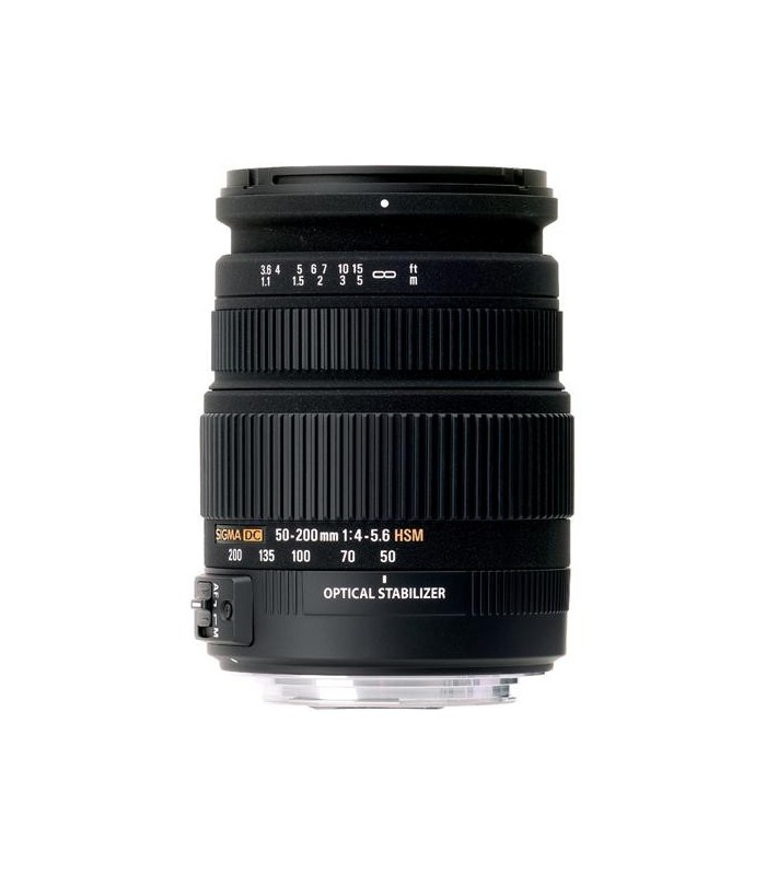 Sigma 50-200mm f4-5.6 DC OS HSM - Canon Mount
