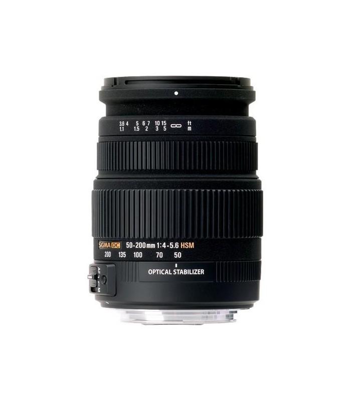 Sigma 50-200mm f4-5.6 DC OS HSM - Nikon Mount