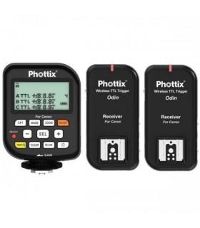 Phottix فلاش تریگر Odin تی تی ال به همراه دو گیرنده مخصوص دوربین های کانن
