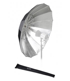 Fomex 152cm Glassfiber Umbrella Black&Silver