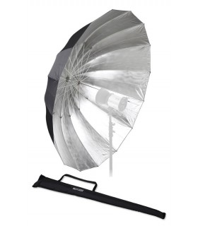 Fomex 182cm Glassfiber Umbrella Black&Silver