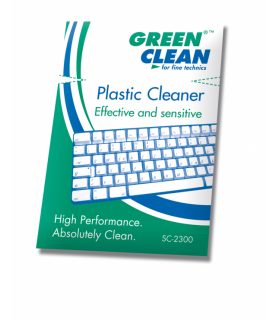 Green Clean Plastic Cleaner Sachets - SC-2300