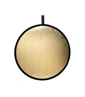 Fomex Reflector Disc 110cm Gold&Silver