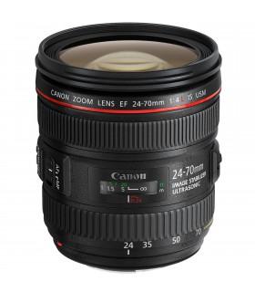 لنز دست دوم کانن مدل EF 24-70mm f/4L IS USM