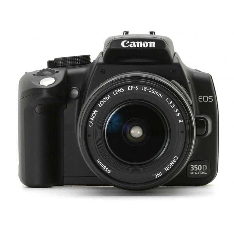 فروشگاه پیکسل - Canon EOS 350D + 18-55 USEDCanon EOS 350D + 18-55 USED. Loading zoom