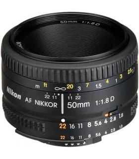 لنز دست دوم نیکون مدل AF NIKKOR 50mm f/1.8D