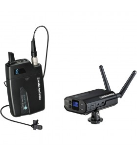 Audio-Technica ATW-1701L System 10 Camera-Mount Digital Wireless System with Omni Lavalier Mic