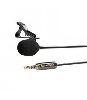Saramonic SR-LMX1 Lavalier Microphone for Smartphones