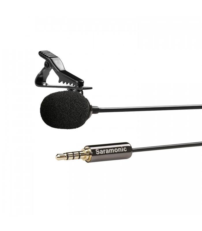 Saramonic SR-LMX1 Lavalier Microphone for Smartphones