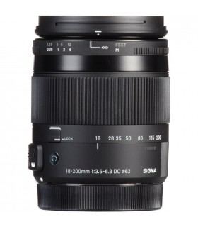 Sigma 18-200mm f/3.5-6.3 DC Macro OS HSM Contemporary Canon Mount