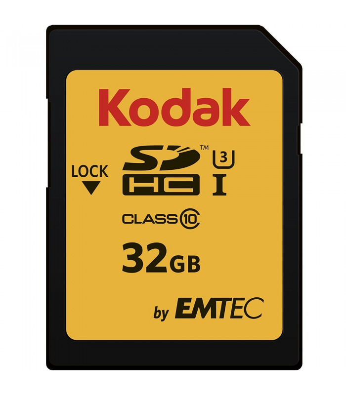 Kodak by EMTEC 32GB SDHC Class 10 UHS-I U3 - EKMSD32GHC10HPRK