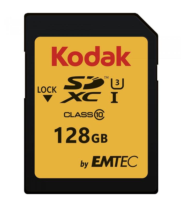 Kodak by EMTEC 128GB SDXC Class 10 UHS-I U3 - EKMSD128GXC10HPRK