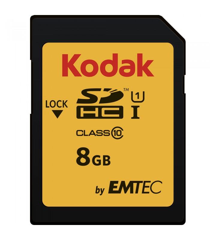 Kodak by EMTEC 8GB SDHC Class 10 UHS-I U1 - EKMSD8GHC10K
