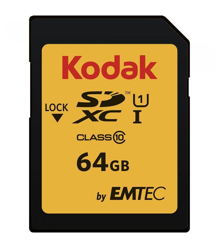 Kodak by EMTEC 64GB SDXC Class 10 UHS-I U1 - EKMSD64GXC10K