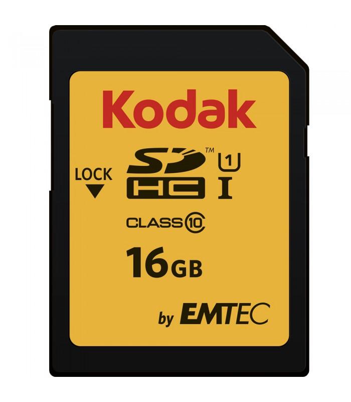 Kodak by EMTEC 16GB SDHC Class 10 UHS-I U1 - EKMSD16GHC10K