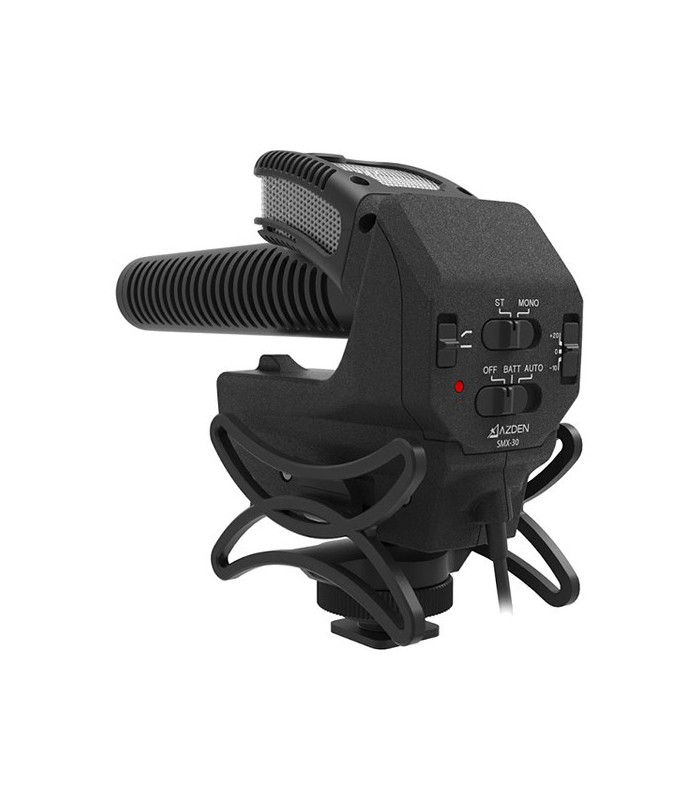 Azden SMX-30 Stereo-Mono-Switchable Video Microphone