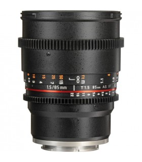 Samyang 85mm T1.5 VDSLRII Cine Lens for Sony E-Mount