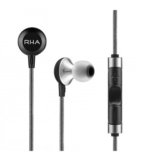 RHA MA600i Noise Isolating In-Ear Headphone with Remote and Microphone