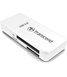 Transcend RDF5 USB 3.0 SDHC SDXC microSDHC/SDXC Memory Card Reader - TS-RDF5W