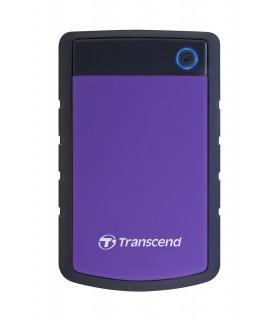 Transcend StoreJet 25H3 Series 1TB 2.5 Anti-Shock External Hard Drive, USB 3.0 - TS1TSJ25H3B