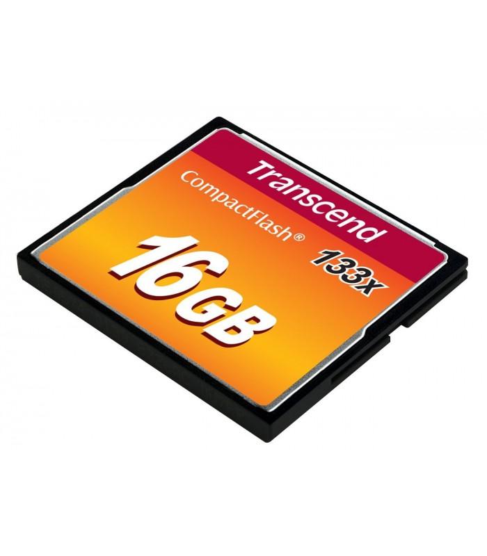 Transcend 16GB CompactFlash Memory Card 133x - TS16GCF133