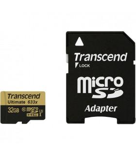 Transcend 32GB Ultimate UHS-I microSDHC Memory Card Class 10 - TS32GUSDU3
