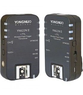 Yongnuo i-TTL Transceiver YN-622N II for Nikon Cameras (2-Pack)