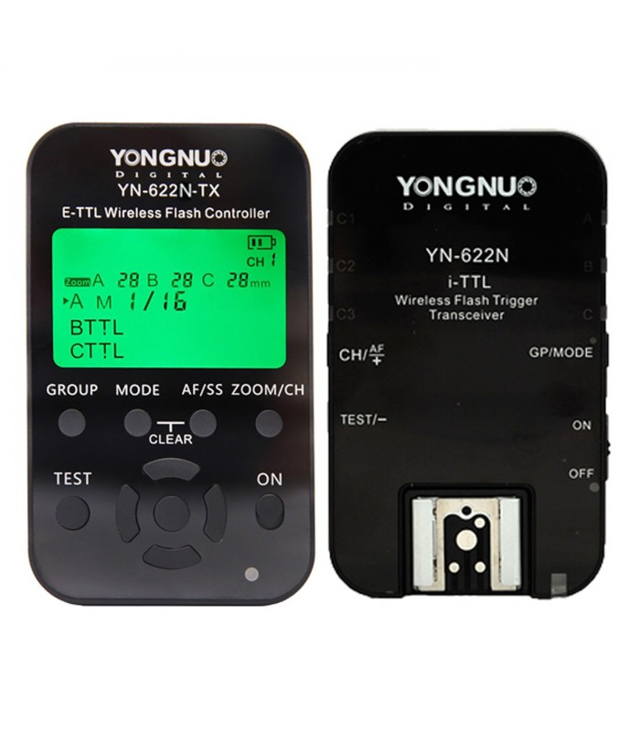 Yongnuo YN-622N Wireless i-TTL Flash Trigger Receiver Transmitter Transceiver