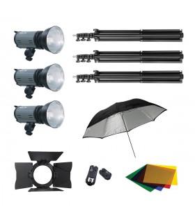 Mettle K-400-DL Studio Flash Light Kit