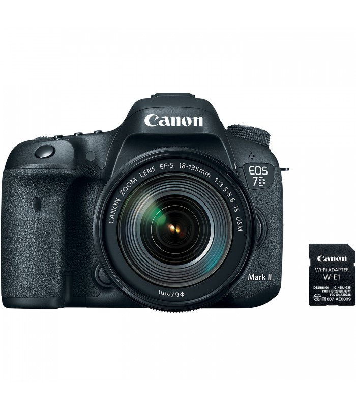 Canon EOS 7D Mark II DSLR Camera with 18-135mm f3.5-5.6 IS USM Lens