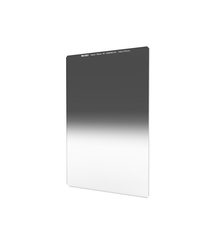 NiSi 150x170mm Nano IR Hard Graduated Neutral Density Filter – ND8 (0.9)