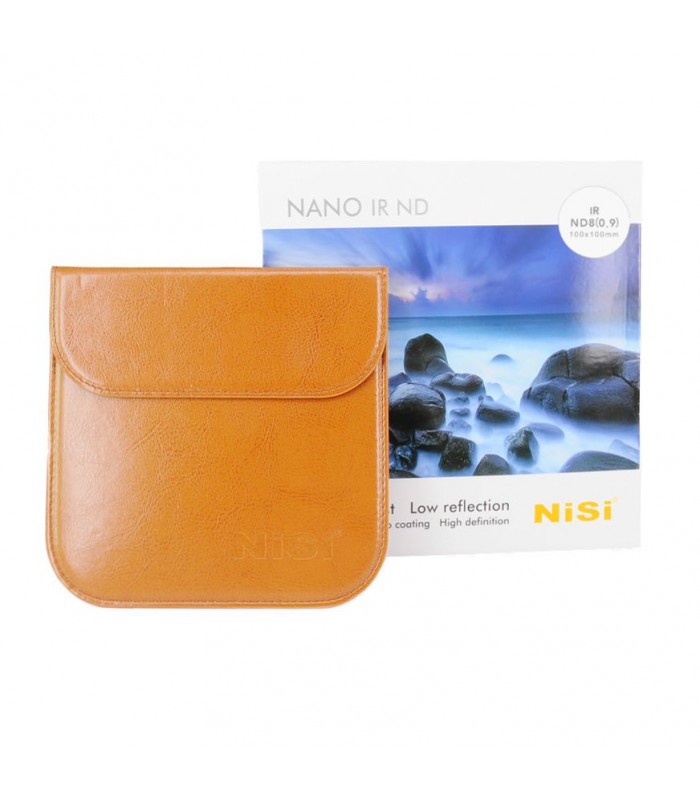 NiSi 100x100mm Nano IR Neutral Density Filter – ND8 (0.9)