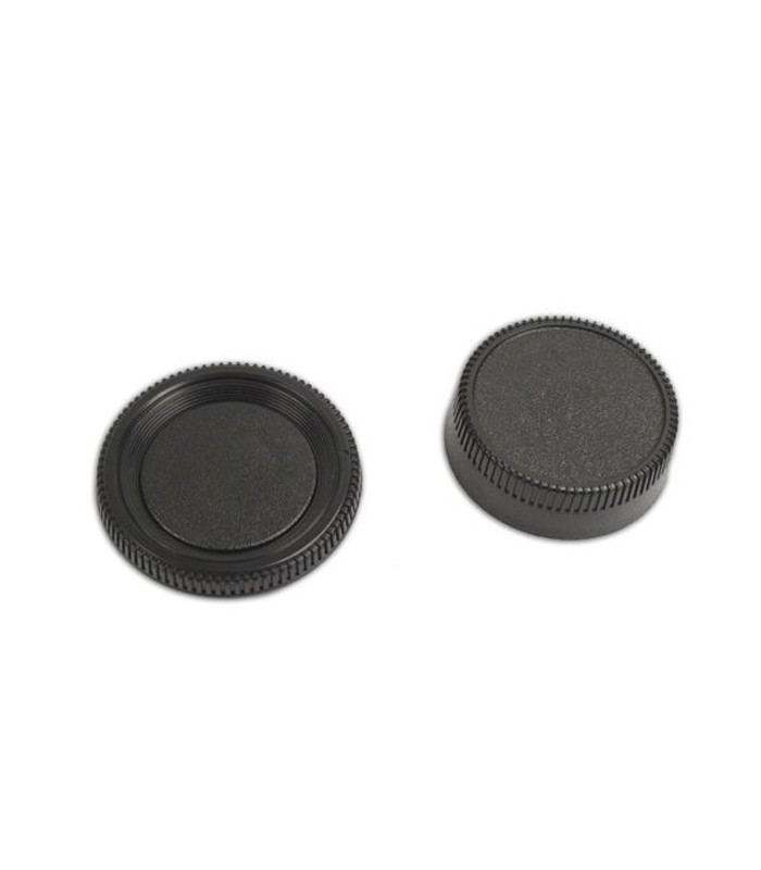 Rear Lens Cover + Camera Body Cap for Nikon DSLR