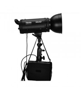 Mettle 300J Battery/AC Studio Flash Head MT-300AD