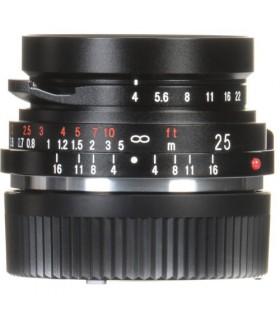 Voigtlander Color-Skopar 25mm f4 P Pancake Lens M-Mount