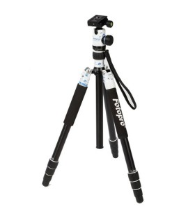Fotopro X-5iw+FPH-52Q(W) Colorful Tripod Kit