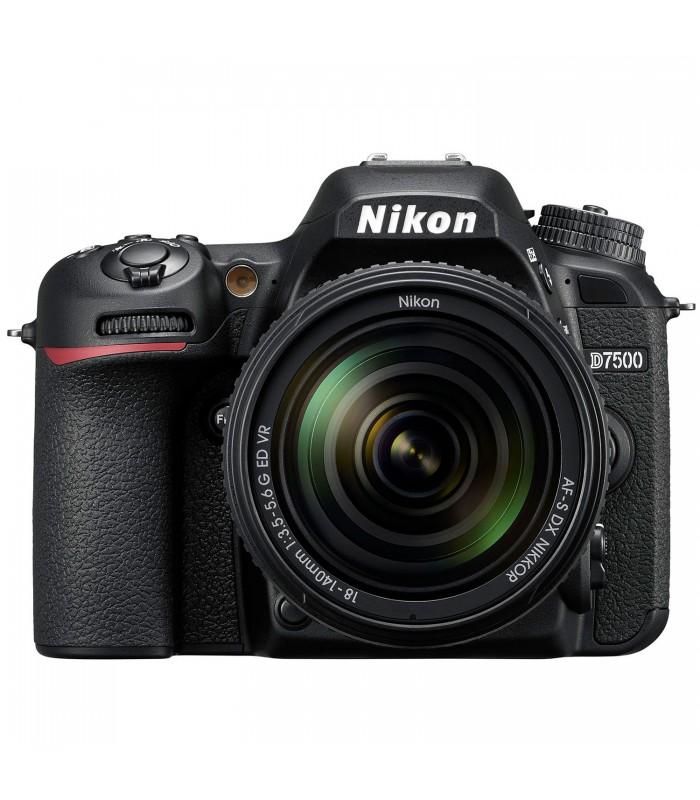 Nikon D7500 DSLR Camera + 18-140mm VR