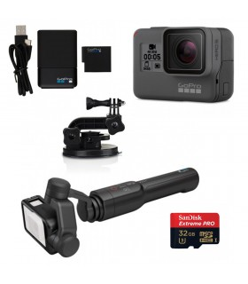 Kit Gopro Hero 5 + Karma Grip + Accessories 1