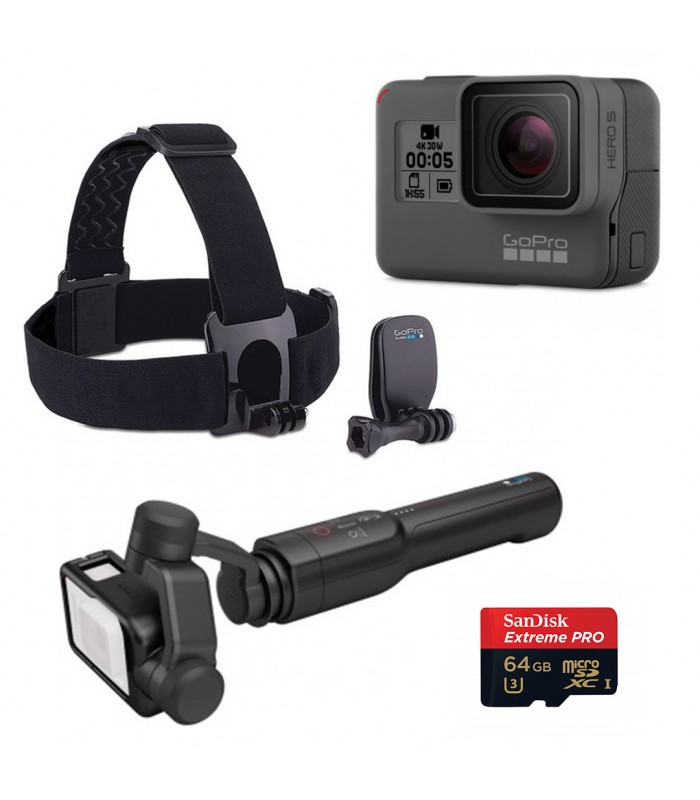 Kit Gopro Hero 5 + Karma Grip + Accessories 2